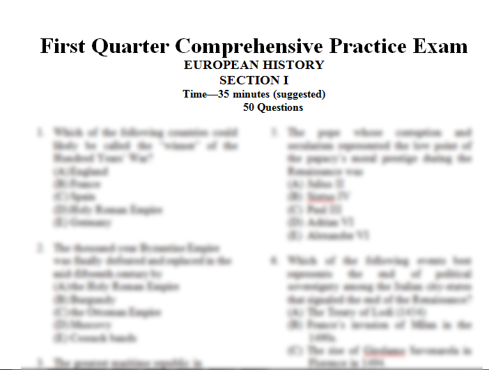 ap european history chapter 14 study Look through this course as part of your preparations for taking the ap european history exam this extensive study aid provides you with full.