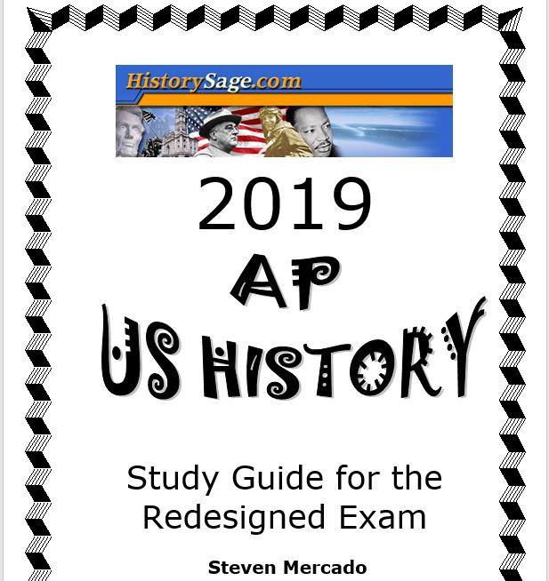 AP U S  History Redesigned Study Guide